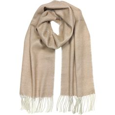 Mila Schon Long Scarves Pure Cashmere Long Scarf w/Fringe (1.950 ARS) ❤ liked on Polyvore featuring accessories, scarves, long scarves, pink, zig zag scarves, fringe shawl, long shawl, pink cashmere scarves and cashmere scarves