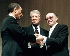 1979 peace with egypt | Former president Jimmy Carter brokered the peace agreement signed by ...