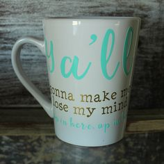 Lose My Mind Coffee Mug – Southern Mess Boutique