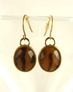 Amber Gold Toned Earrings. $16.00, via Etsy. Use coupon HAPPYHOLIDAYS for 15% off. COUPONS ARE NOT VALID IN MADE TO ORDER, ALREADY DISCOUNTED ITEMS AND RECIPES.