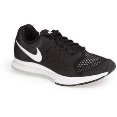 $100.00 Nike 'Air Pegasus 31' Running Shoe (Women) Black/ Grey 12 M
