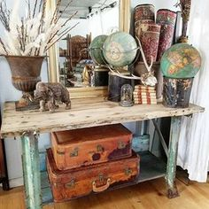 A glimpse back at some of my merchandise and set up from last year's Junk in the Trunk Market here in San Diego at Liberty Station. I'm very excited to be a vendor once again at the San Diego show in July. I'll have 2 spaces and will be featuring all new hand selected vintage, antique, primitive, industrial, weathered, and boho. Please follow over @junkinthetrunkvintagemarket if you are not already. They will be in Scottsdale, Arizona this weekend and then San Diego is next up in July Ar