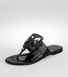 Tory Burch Patent Square Miller Sandal...Christmas present to myself. :)