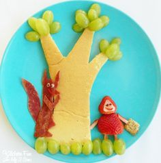 Kitchen Fun With My 3 Sons: Little Red Riding Hood Breakfast