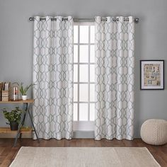 You'll love the Skyline Geometric Grommet Curtain Panel at Joss & Main - With Great Deals on all products and Free Shipping on most stuff, even the big stuff.