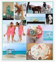 My colors and ideas for our moon palace beach wedding