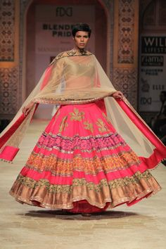 Manish Malhotra Lehenga from WIFW 2012. More here:  http://indianweddingsite.com/blog/2012/02/wifw-2012-indian-fashion-by-manish-malhotra/