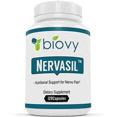 Nervasil� #1 Supplement For Healthy Nerves & Nerve Repair by Biovy - Specially Formulated To Be The Most Effective Support For Nerve Health On The Market