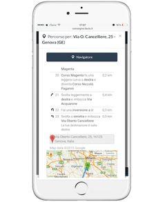 funzione navigatore integrato per consegnare ancora più velocemente la spesa
