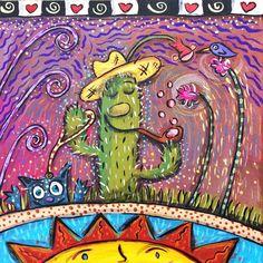 #06 Happy Cactus