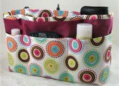 Purse Organizer Sewing Pattern Free - Bing Images Adding a handle for easy access would be a good idea.