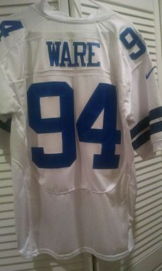 Mens Navy Blue Vintage Dallas Cowboys DeMarcus Ware #94 Football ...