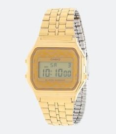 7867c16dae6 Relógio Feminino Casio Vintage A159WGEA 9ADF Digital - Lojas Renner