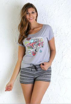 """Pijama juvenil """"english car"""" #lovemassana #verano"""