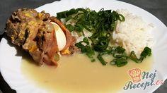 Krůtí ptáčky s omáčkou a rýži   NejRecept.cz Pork, Beef, Chicken, Kale Stir Fry, Meat, Pork Chops, Steak, Cubs