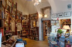 Inside one of Santorini's stunning whitewashed houses in the small village of Oia, you will find Atlantis Books, an independent bookstore that has been featured across the globe. From huge write ups in The New York Times and Vanity Fair, to being named the best bookstore in the world by National Geographic last year, this…