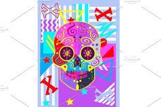 Skull Artwork, Skull Painting, Deer Skulls, Animal Skulls, Skull Illustration, Icon Illustrations, Skull Icon, Skull Reference, Skull Anatomy