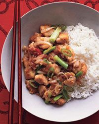Spicy Lemongrass Chicken  - F