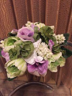 White green lavender