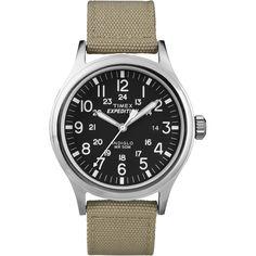 Timex Expedition Scout Metal Watch - Khaki/Black - https://www.boatpartsforless.com/shop/timex-expedition-scout-metal-watch-khakiblack/