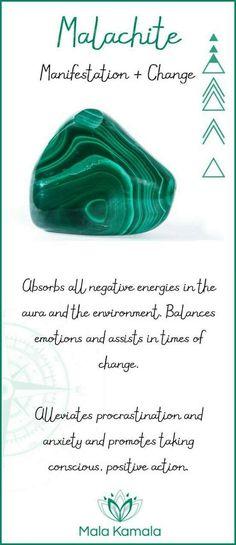 Malachite: Manifestation & Change