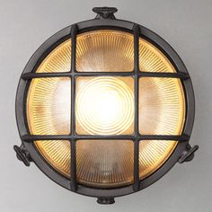 Buy Nordlux Bulkhead Round Outdoor Light Online at johnlewis.com
