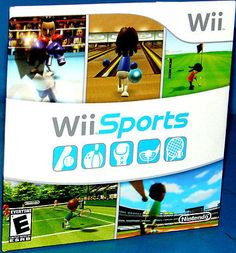 Wii Sports ( Nintendo Wii Game)  ****BRAND NEW*** Out Of The Bundle