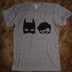 Batman & Robin: simple illustrations? Sheep and Wolf?