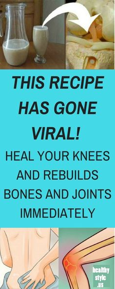 THIS RECIPE IS GOING CRAZY IN THE WORLD! HEAL YOUR KNEES AND REBUILDS BONES AND JOINTS IMMEDIATELY Over the years, it is common for our body to wear out and show age-related ailments; the bone and joint pain , is one of the main players symptoms over the years. Today we will teach you how …