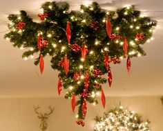 Merry, Christmas Tree, Holiday Decor, School, Winter, Home Decor, Ceiling, Xmas, Winter Time