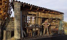 """""""Quick break"""" 1/35 Scale Model Diorama"""