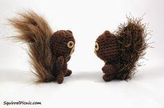 2000 Free Amigurumi Patterns: Crochet Your Own Squirrel Friend