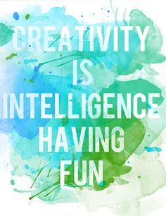 'Creativity' Print
