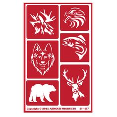 Armour Products announces 11 new stencil sheet designs for 2015! These stencils are re-usable designs for glass etching with Armour Glass etching cream. Available at: www.etchworld.com Product #21-1657 Projects and instructions also available