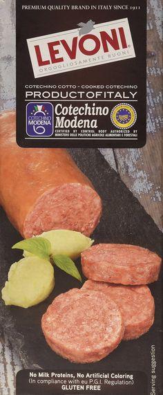 Levoni PGI Cooked Cotechino Sausage Modena 17.5 oz.