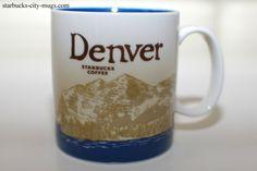 A source for Starbucks City Mugs collectors Starbucks City Mugs, Global Icon, The Hamptons, Denver, Tableware, Icons, Travel Mugs, Vacation, Usa