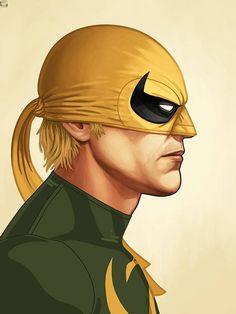 Mike Mitchell x Marvel x Mondo - Iron Fist