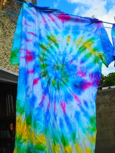 #TieDye #Colour #SUMMER