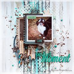 #papercrafting #scrapbook #layout - Wild spirit