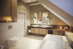 razoo-architekci Interior Inspiration, Bathtub, Indoor, Cabinet, Storage, Toilets, Furniture, Bathrooms, Homes
