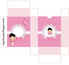 "Custom Theme Kit ""Ballerina Rose"" for Print - Simple Digital Invitations"