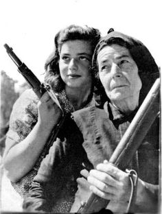 During the Battle of Crete (η Μάχη της Κρήτης), Hitler's army faced the wrath of Cretans fighting for their land and their lives. Civilians joined in the battle — women too — to defend their island. Greek History, World History, Ww2 History, Battle Of Crete, Hellenic Army, Old Greek, Greek Culture, Female Soldier, Military History