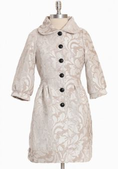 Miraflores Baroque Coat By Knitted Dove