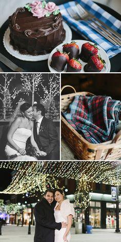 Kristina & Alain Real Vermont Wedding Inspiration   Winter Elopement on Valentine's Day   Hotel Vermont Burlington   Vermont Bride Magazine