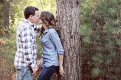 Cozy & Charming Fall Engagement Session..Adore this pose