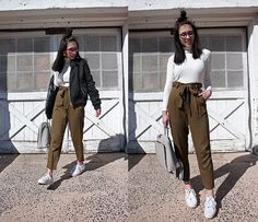 Sheila - Bomber Jacket and Cropped Pants
