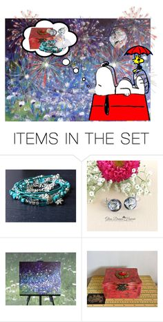 Etsy Dreams by funnfiber on Polyvore featuring art