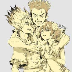 Manga Anime, Anime Art, Kagami Kuroko, The Ancient Magus Bride, Stone World, Fan Art, Pokemon, Kawaii, Stone Art