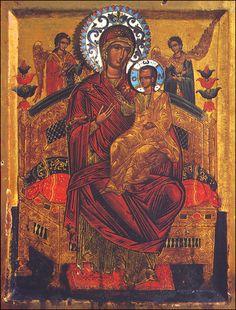 Theotokos Queen of All: Healer of Cancer
