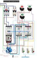 Esquemas eléctricos: Esquema eléctrico  inversion de giro